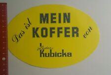 Aufkleber/Sticker: Das ist mein Koffer von Leder Kubicka (1910167)
