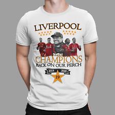 Liverpool T-SHIRT Champions of England KLOPP  2020  19 Times SALAH GERMAN