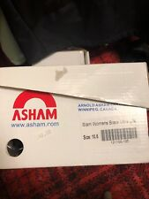 ASHAM CURLING SHOES WOMENS SLAM ULTRA LITE With GRIPPERS - 1/16 SLIDER Included