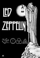 LED ZEPPELIN - STAIRWAY TO HEAVEN - FABRIC POSTER - 30x40 WALL HANGING 51028
