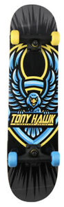 "Tony Hawk 31"" Limited Edition Signature Series Skateboard - Badge Hawk New"