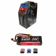 Venom 20C 3S 5400mAh 11.1V LiPo Battery and Pro Duo Charger Combo