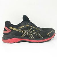 Asics Mens GT 2000 7 1011A262 Red Black Running Shoes Lace Up Low Top Size 10.5