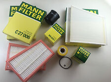 MANN FILTER OIL FILTER POLLENFILTE AIR FILTERS FUEL W211 S211 280 CDI 320 CDI
