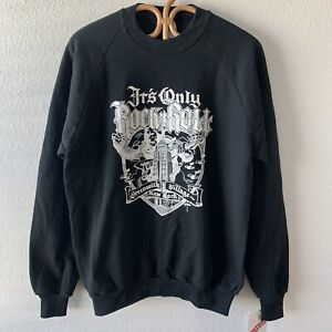 Vintage It's Only Rock 'N' Roll 80s NOS Sweatshirt Rick Griffin King Kong Stones