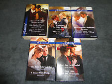 5 MILLS AND BOON BULK BOOKS - INCLUDING 2015  HISTORICAL - 11 STORIES """"
