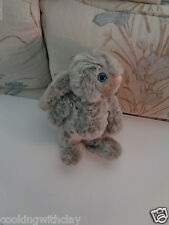 RARE VINTAGE BLUE EYED NORTH AMERICAN BEAR COMPANY REALISTIC HARE RABBIT TOY