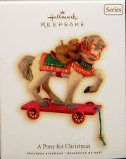 2009 HALLMARK - A PONY FOR CHRISTMAS -12TH IN THE SERIES - SLIGHTLY DAMAGED BOX