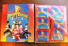 BLISTER: ALBUM DE CROMOS POWER RANGERS + 50 SOBRES PANINI / STICKER PACKS