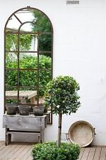 SUPERB  XXXL  PROVINCIAL FRENCH RUST orangerie MIRROR INDOOR OUTDOOR  NEW