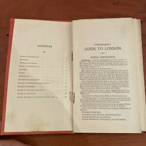 C1930? Bacon's Gem Map of London and Suburbs - Cloth backed folding map