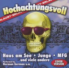 CD/ Hochachtungsvoll - Cover Version - 14 Hits! super seltene CD !! NEU&OVP !!
