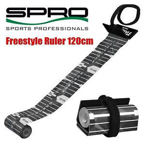 Spro Freestyle Ruler 120cm Maßband zum Raubfischangeln Fischmaßband zum Angeln