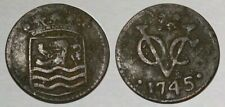 ☆ Historic ! - 1745 Colonial Copper Coin ! ☆ Early New York Coinage !