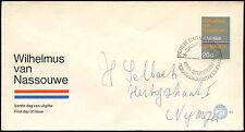 Paesi Bassi 1968 olandese INNO NAZIONALE FDC primo giorno Coperchio #C 27335