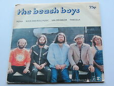 THE BEACH BOYS 1977 UK EP Mona, Rock & Roll Music, naviguer sur Sailor, Marcella,