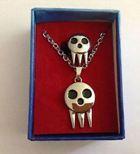 Soul Eater Death The Kid Cosplay Necklace MAKA Adjustable Ring Set