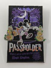 2019 Mickey's Not So Scary Halloween Party WDW Passholder LR Disney Pin Vampire