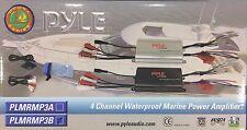 Pyle - PLMRMP3B - 4 Channel 800 Watt Waterproof Micro Marine Amplifier