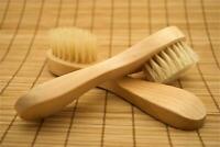 Exfoliating Complexion Brush Dry Skin Brushing Facial Exfoliation (2 Brushes)