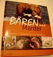 Baren und Marder German Language Wild Forest Animal Photography Book Germany