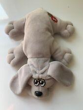 Vtg Grey Pound Puppy Plush 1985