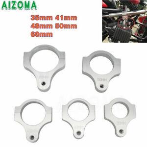 Motorcycle Aluminum Steering Damper Mount Clamp Bracket For Harley Dyna Honda