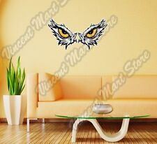 "Eagle Angry Eyes Bird Hawk Vulture Wall Sticker Room Interior Decor 25""X16"""
