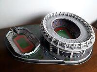 Stadio Olimpico di Roma e Flaminio Puzzle 3D montato Nanostad Giochi Preziosi