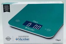 Ozeri Touch II Digital Kitchen Scale Microban Antimicrobial Protection NEW