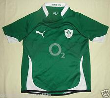 Ireland (IRFU) / 2010-2011 Home - PUMA JUNIOR Rugby Shirt / Jersey. Size: 12/152