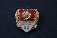 Hungary Hungarian Torzsgarda 20 Year Peoples Army Military Exc. badge pin medal