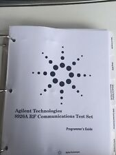 Agilent/Hp 8920A Rf Communications Test Set Programmer'S Guide Rev B.