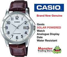 AUSTRALIAN SELLER CASIO MTP-VS02L-7BDF SOLAR POWERED WITH DATE 12 MONTH WARRANTY