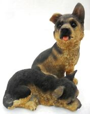 LES ALPES 001 005 DOGS & CATScm. 8,5x8,5x8,5 animali in resina