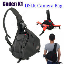 Waterproof DSLR SLR Digital Camera Bag Case Messenger For Canon 550D 50D 100DX1