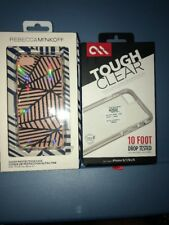 Lot Of 2pc Casemate Tough Clear Case, Rebeccaminkoff Case for iPhone 7/8