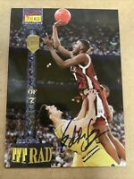 Eddie Jones 1994-1995 Signature Rookies Autograph AUTO RC #/7750 *TEMPLE LAKERS*