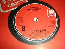 """Sam Brown 7"""" Can I Get A Witness A & M"""