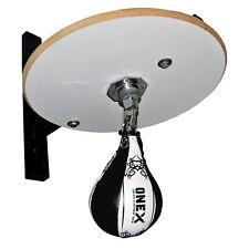 Speed ball Platform Punch Bag Frame Swivel Bracket MMA Exercise Workout Ball