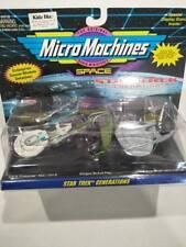 BBNIB Star trek Micro Machines 3pk ships Enterprise 1701-b 1701-c & Bird of Prey