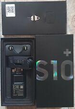 Originalverpackung Samsung Galaxy S10 Plus mit Zubehör , ohne Smartphone