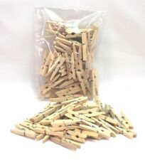 "NATURAL MINI CLOTHES PEGS 40 pcs x 30 mm (1.25"")"