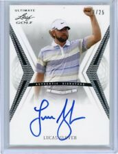 2012 Leaf Ultimate Golf LUCAS GLOVER  Autograph CARD 13/25