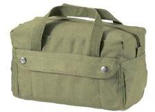 US Army Canvas G.I. Type Mechanics Tool Bag Cargo Bag Kampftasche Oliv OD USMC