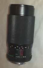 YASHICA 80-200mm Zoom lens for Yashica/Contax