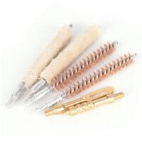 6Pcs/set 7.62mm Bore Brush Kit Brush For Thread 8-32 Gun Cleaning Tool Rod Brush