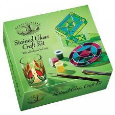 House of Crafts vidrieras juego con pintar tira de plomo caja la baratija Hc530