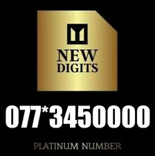 GOLD VIP NUMBER EASY BUSINESS PLATINUM MOBILE PHONE NUMBER SIM CARD 0000