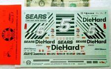 SLIXX 1/24 1/25 Water Slide Decals NASCAR Vintage SEARS DieHard Western Auto #5